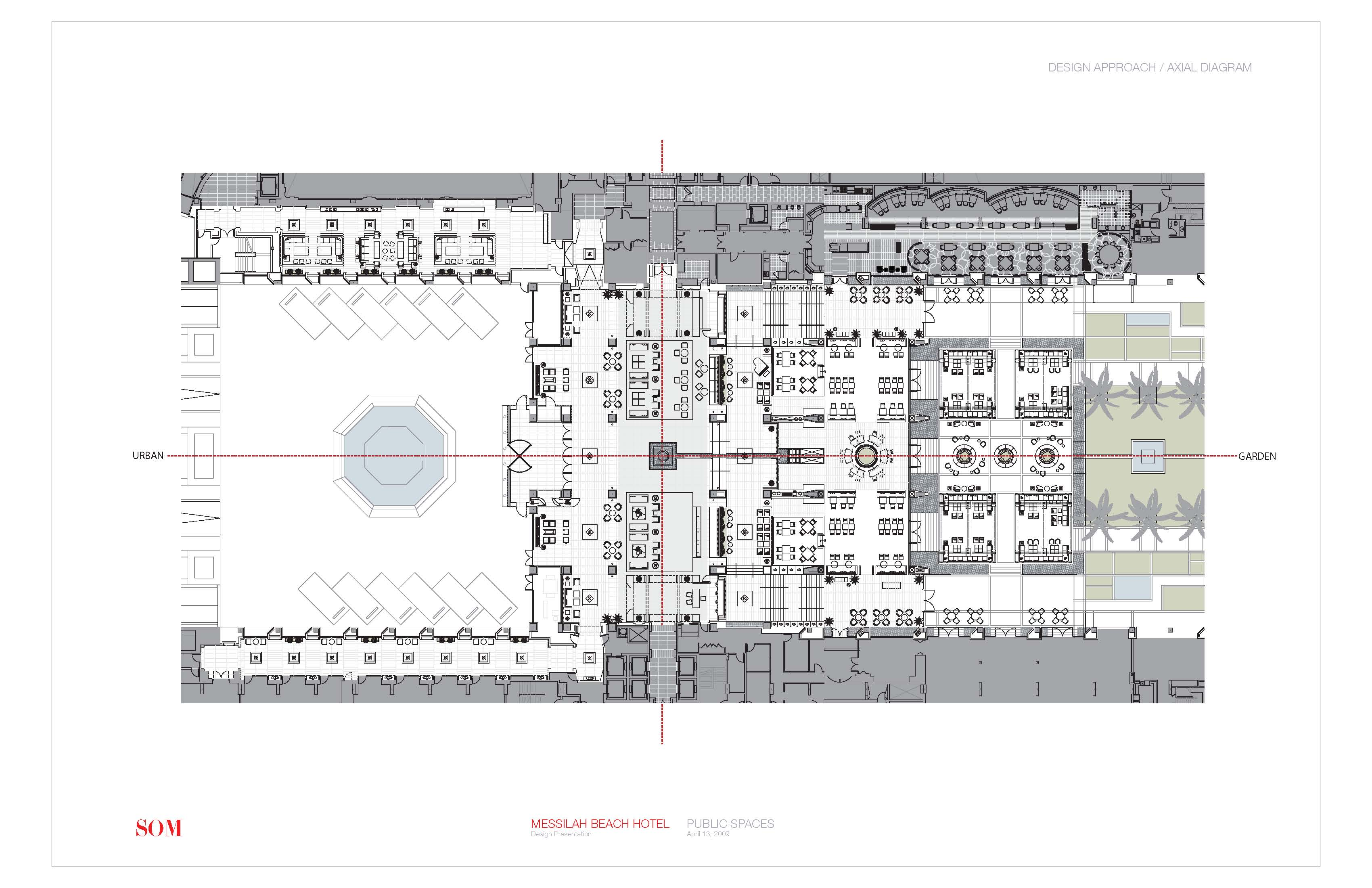 Mbh Ground Floor Plan Axial Diagram